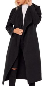Missguided Waterfall Trench Coat