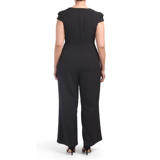Adrianna Papell Evening Cocktail Wide Leg Womens Dress Image 1