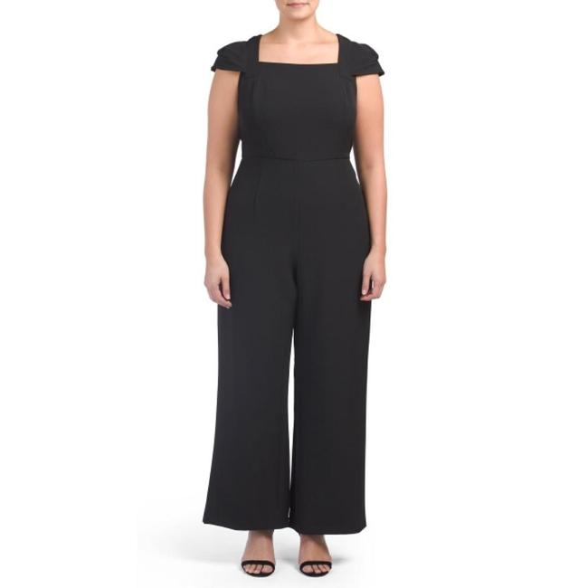 Adrianna Papell Evening Cocktail Wide Leg Womens Dress Image 3