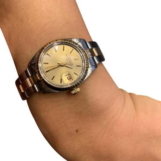Preload https://img-static.tradesy.com/item/24390852/rolex-two-tone-lady-datejust-6917-watch-0-5-540-540.jpg