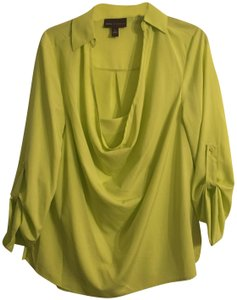 Dana Buchman Top Lime-green