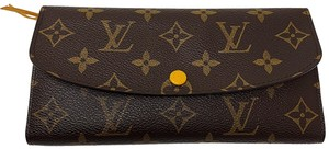 Louis Vuitton Louis Vuitton Monogram Ebene Emilie Wallet