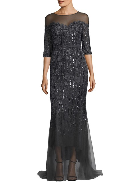 Preload https://img-static.tradesy.com/item/24390892/navy-blue-label-mesh-embellished-gown-originally-long-workoffice-dress-size-4-s-0-0-650-650.jpg