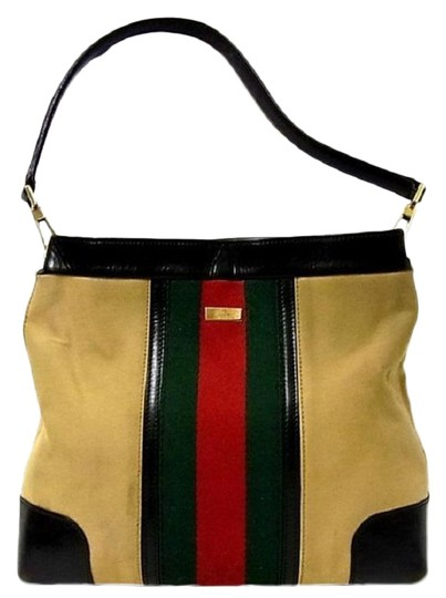 Preload https://img-static.tradesy.com/item/24390937/gucci-vintage-pursesdesigner-purses-tan-canvas-with-redgreen-shelly-stripe-and-brown-leather-leather-0-1-540-540.jpg