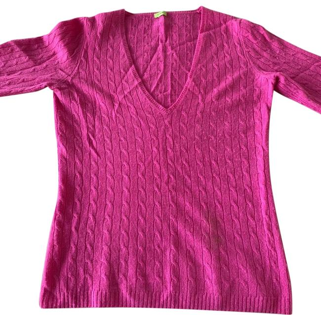 Preload https://img-static.tradesy.com/item/24390951/jcrew-cable-knit-pink-sweater-0-1-650-650.jpg