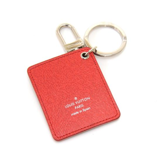 Louis Vuitton Louis Vuitton Illustre Christmas Tree Damier Graphite Canvas Keyring Image 3