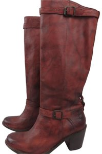 Frye Antique washed Rusty Red Boots