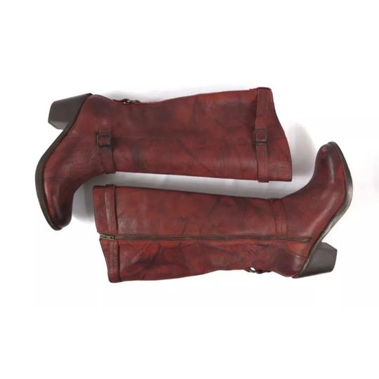 Frye Antique washed Rusty Red Boots Image 1