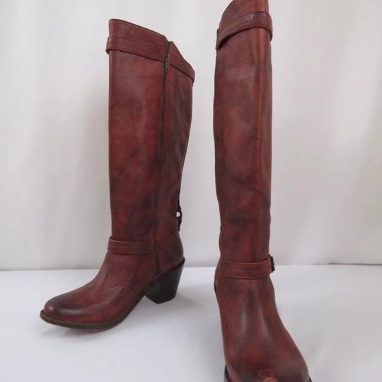 Frye Antique washed Rusty Red Boots Image 2