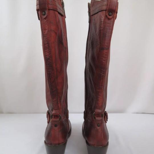 Frye Antique washed Rusty Red Boots Image 4