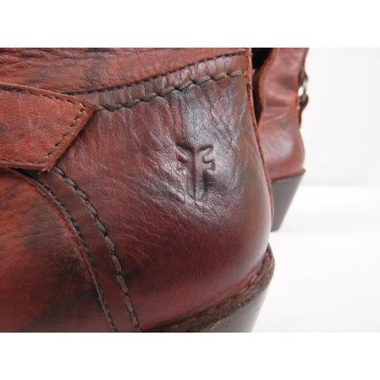 Frye Antique washed Rusty Red Boots Image 5