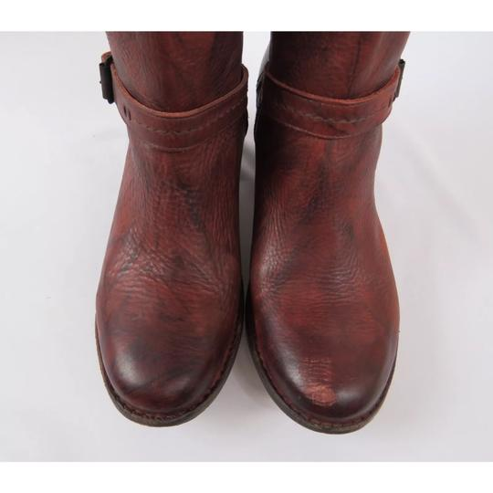 Frye Antique washed Rusty Red Boots Image 6