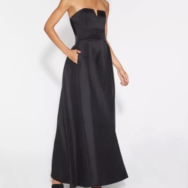 Halston Romper Ball Gown Contemporary Tie Dress Image 1