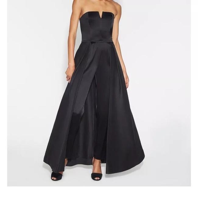 Halston Romper Ball Gown Contemporary Tie Dress Image 2