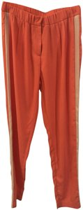 Romeo & Juliet Couture Trouser Pants Coral and Cream