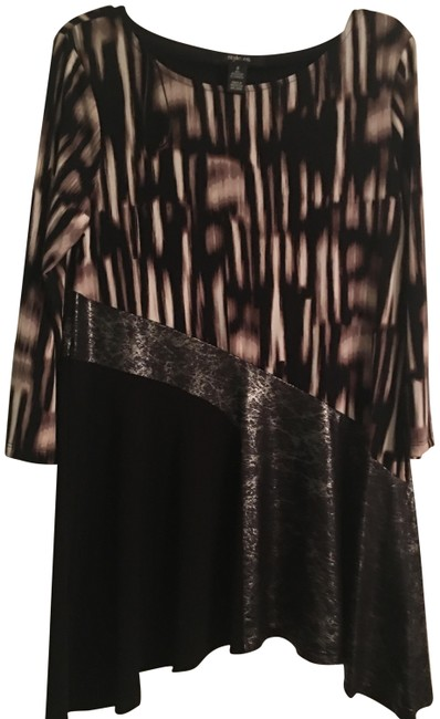 Preload https://img-static.tradesy.com/item/24391473/style-and-co-multicolor-none-blouse-size-6-s-0-1-650-650.jpg