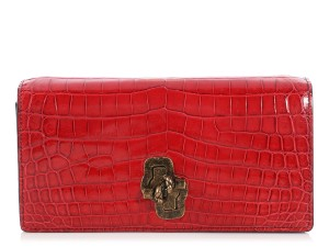 Bottega Veneta Bv.p1023.10 Crocodile Knot Reduced Price Shoulder Bag