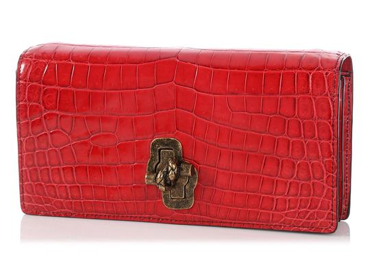Bottega Veneta Bv.p1023.10 Crocodile Knot Reduced Price Shoulder Bag Image 1
