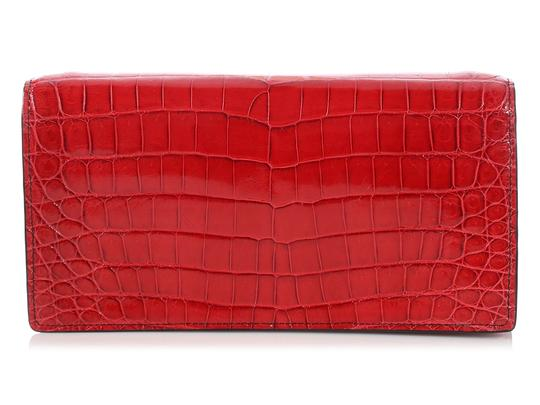 Bottega Veneta Bv.p1023.10 Crocodile Knot Reduced Price Shoulder Bag Image 3