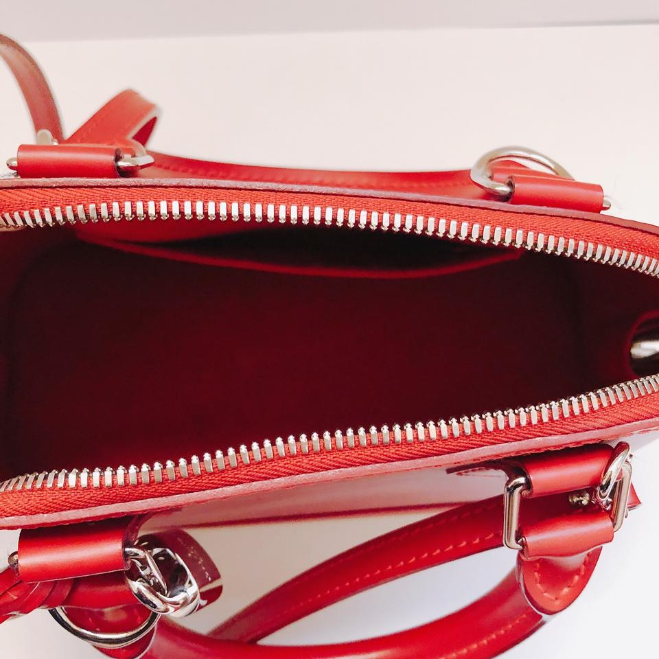 32a82b524168 Louis Vuitton Alma Bb Texture Top Handle Coquelicot Red Epi Leather ...