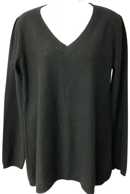 Preload https://img-static.tradesy.com/item/24391601/dkny-wool-cashmere-blend-knit-black-sweater-0-1-650-650.jpg