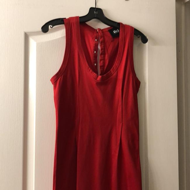 red Maxi Dress by Dolce&Gabbana Image 1