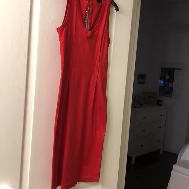 red Maxi Dress by Dolce&Gabbana Image 2