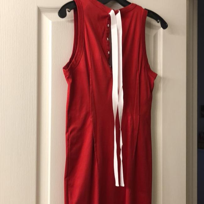 red Maxi Dress by Dolce&Gabbana Image 3