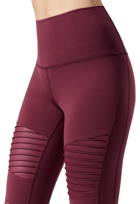 Preload https://img-static.tradesy.com/item/24391717/alo-burgundy-high-waist-moto-in-cherry-glossy-activewear-bottoms-size-12-l-32-33-0-1-650-650.jpg