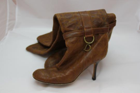 Dior Over The Knee Cannage brown Boots Image 1