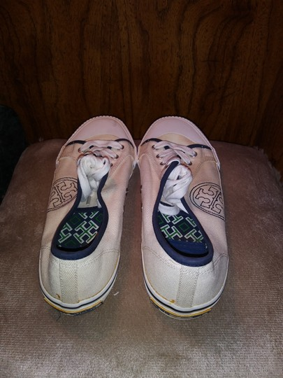 Tory Burch Canvas Sneaker White Athletic Image 3
