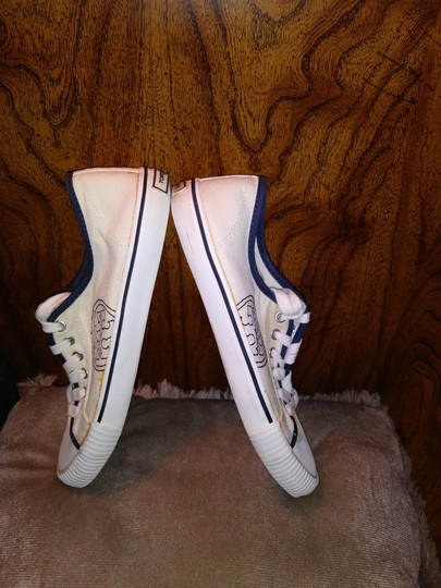 Tory Burch Canvas Sneaker White Athletic Image 4