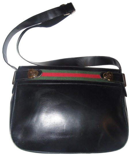Preload https://img-static.tradesy.com/item/24391949/gucci-vintage-pursesdesigner-purses-midnight-blue-black-leather-with-rednavy-blue-striped-top-accent-0-2-540-540.jpg