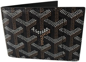 Goyard Classic Chevron Multi-Slot Bi-Fold Slim Leather Credit Card