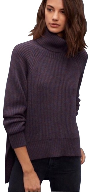 Preload https://img-static.tradesy.com/item/24392263/aritzia-wilfred-free-burgundy-lin-turtleneck-sweater-0-1-650-650.jpg