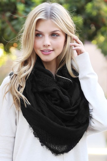 Riah Fashion Soft Fall Infinity Scarf Image 2