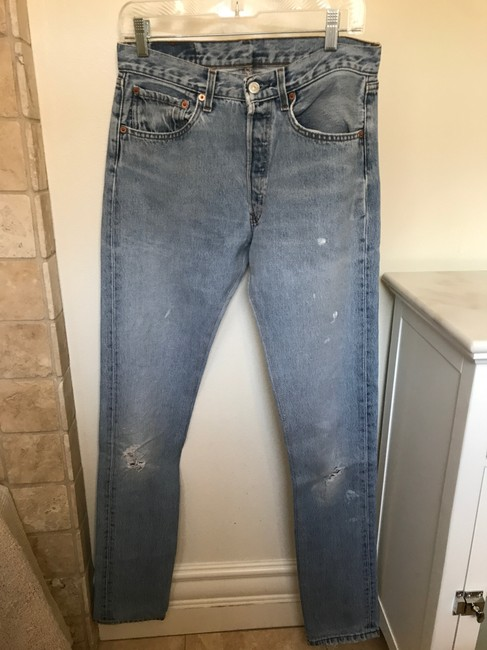 Levi's 501 Vintage Vintage 501 Relaxed Fit Jeans-Distressed Image 1