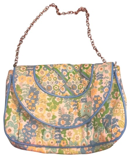 Preload https://img-static.tradesy.com/item/24392392/vera-bradley-petite-chain-english-meadow-blue-and-green-cloth-multicolor-cotton-shoulder-bag-0-1-540-540.jpg