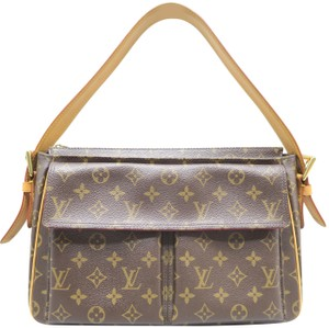 Louis Vuitton Lv Monogram Canvas Viva Cite Satchel in Brown