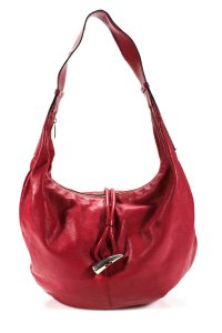 Burberry Mint Condition Leather/Chrome Xl Shoulder Classic Hobo Bag