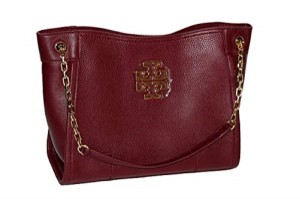 Tory Burch Tote in imperial garnet