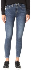 Rag & Bone 10'' Paige Vince Skinny Jeans-Medium Wash