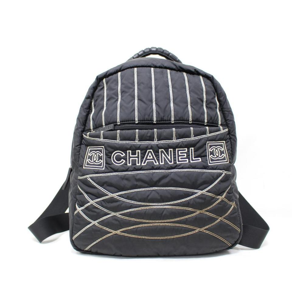 3c063d794a5d Chanel Sport Cc Logo Black Nylon Backpack - Tradesy