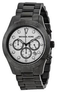 Michael Kors Michael Kors Unisex Black Ion Plated St Steel Bracelet Watch MK6083