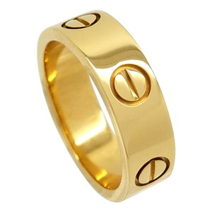Cartier CARTIER LOVE RING 18K YELLOW GOLD SIZE 50 5.5