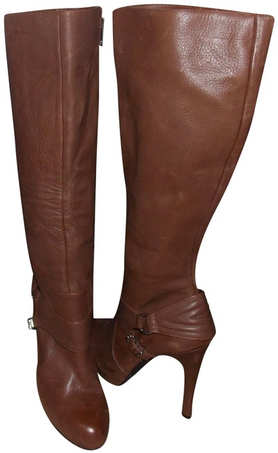Item - Brown Leather Boots/Booties Size EU 39 (Approx. US 9) Regular (M, B)