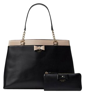 Kate Spade Satchel in multicolor black beige