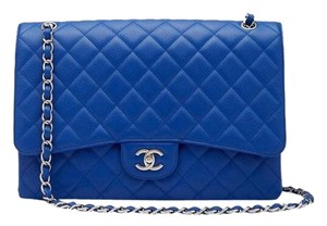 Chanel Blue Travel Bag