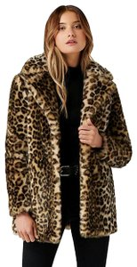 Romeo & Juliet Couture Snow Leopard Jacket