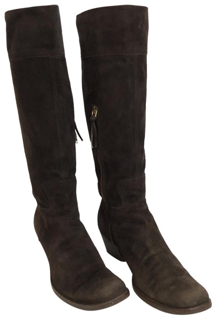 Item - Brown Leather Boots/Booties Size EU 37 (Approx. US 7) Regular (M, B)